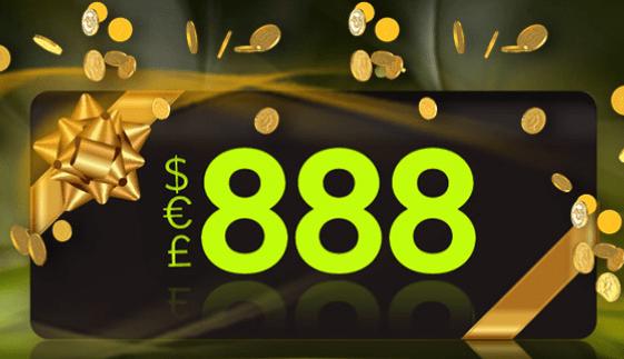 888 reload bonus