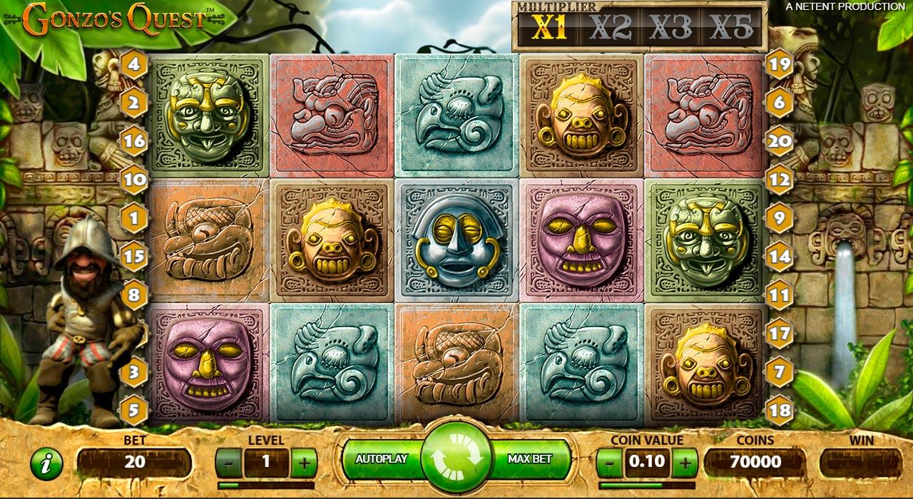 Gonzo's Quest Slot Vorschau