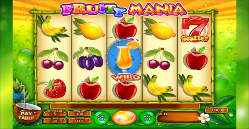 Fruity Mania Vorschau