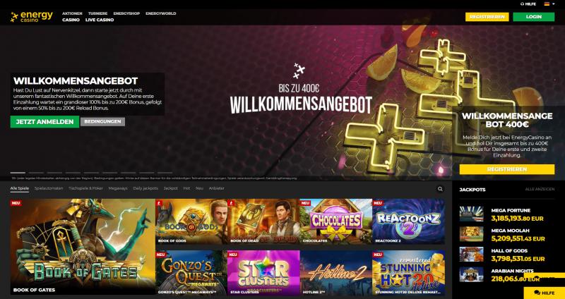 energy casino webseite