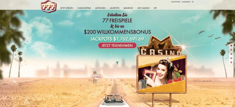 777 casino startseite