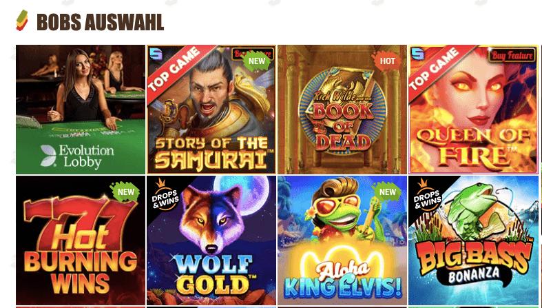 bob casino slots