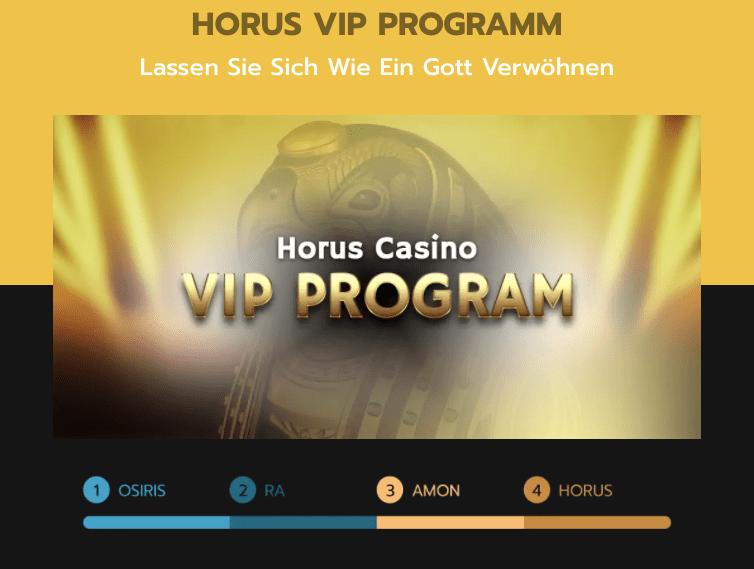 horus casino vip