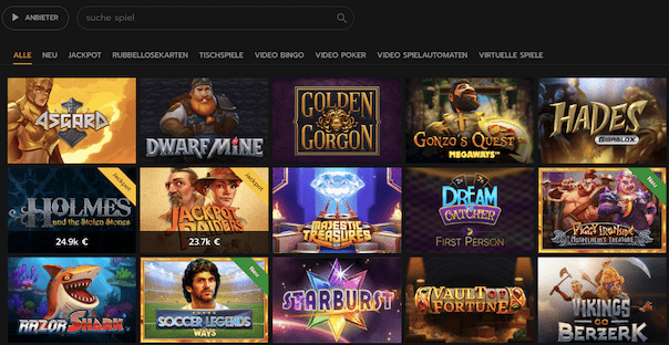 horus casino spielangebot