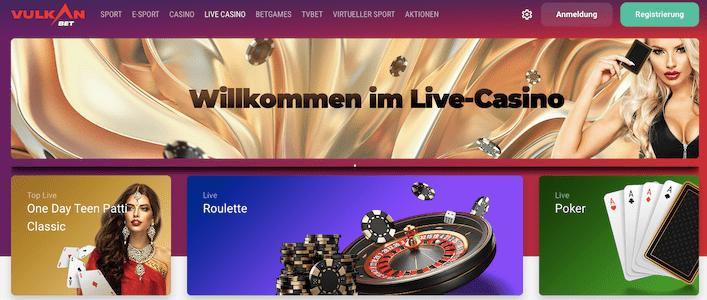 vulkan bet live casino