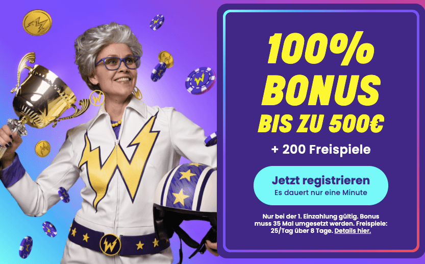 wildz casino bonus 1